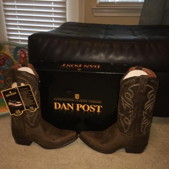 f2394632215 Handcrafted cushion comfort Dan Post boots NWT